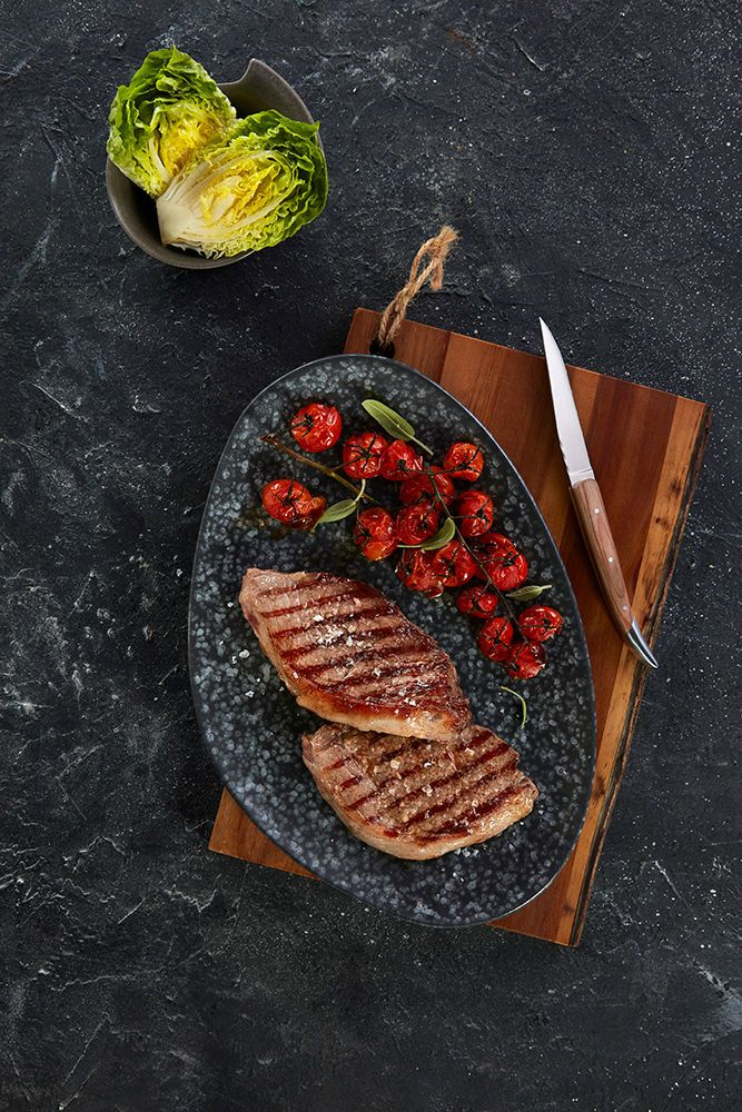 Receita: Receta de croca de potro gallego 100x100 raza autóctona a la plancha con Cherry - Carne de Portro Gallega