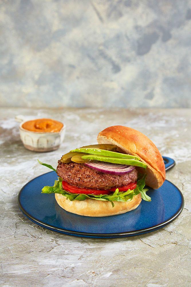 Receita: Receta de Hamburguesa de carne de potro gallego 100x100 raza autóctona - Carne de Portro Gallega