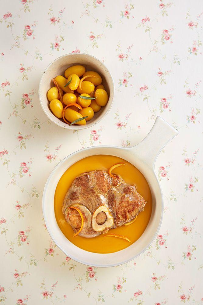 Receita: Receta de Ossobuco de potro gallego 100x100 raza autóctonaa la naranja - Carne de Portro Gallega